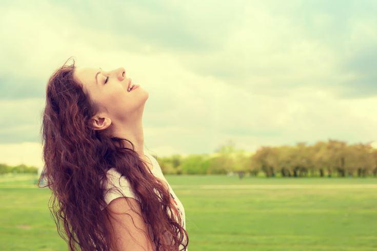 bienestar con pensamientos positivos