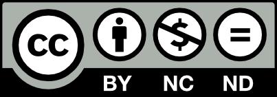 Licencia Creative Commons Atribución-NoComercial-SinDerivadas 3.0 Unported