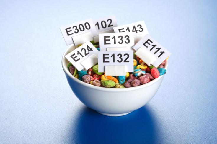 Los aditivos en la alimentación