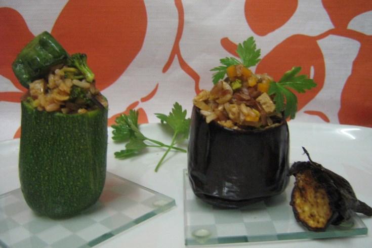 receta de verduras rellenas saludable