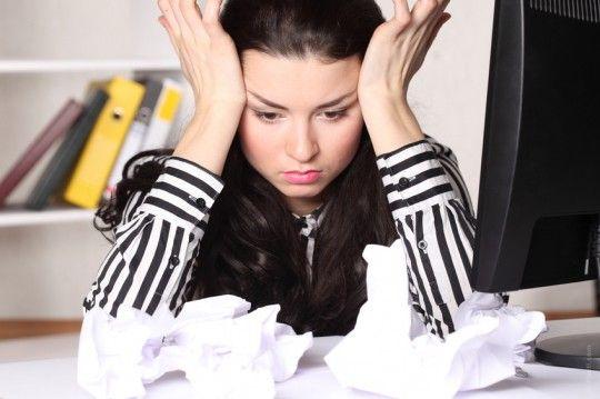 estrés por agotamiento