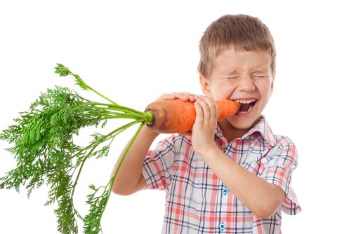 alimentación y salud dental en niños