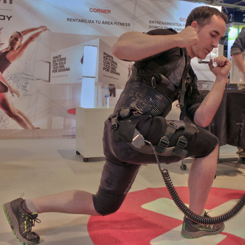Traje de electroestimulación muscular para fitness y salud