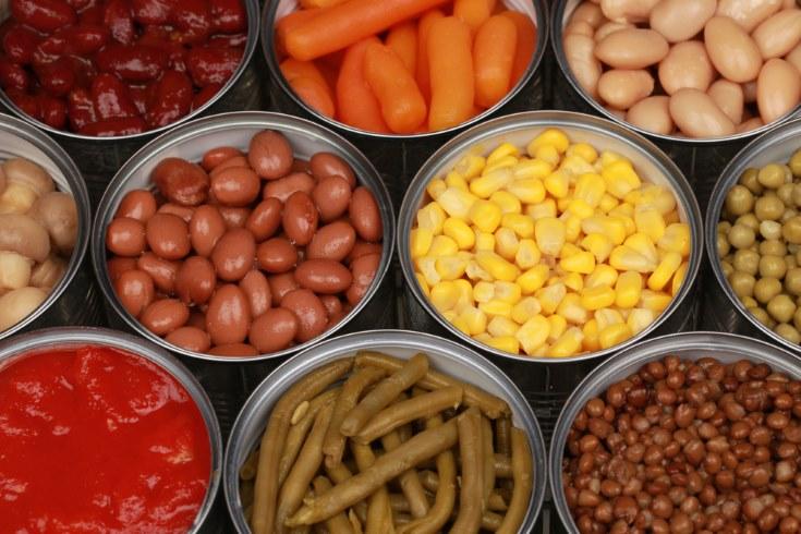 Alimentos procesados Alimentos enlatados