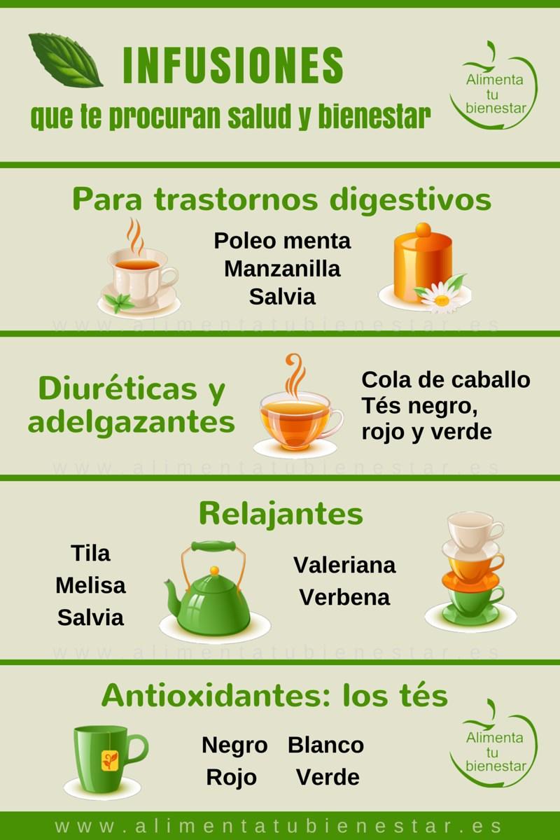 Las mejores infusiones para tu salud y bienestar for Infusiones para bajar el colesterol