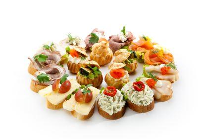 aperitivos saludables - canapés