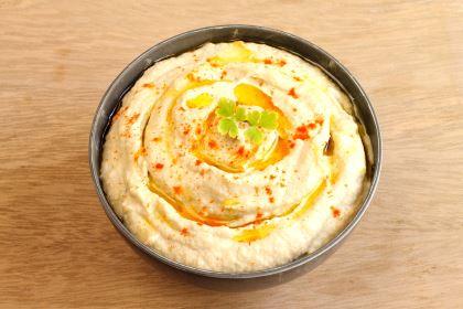 aperitivos saludables - receta de hummus
