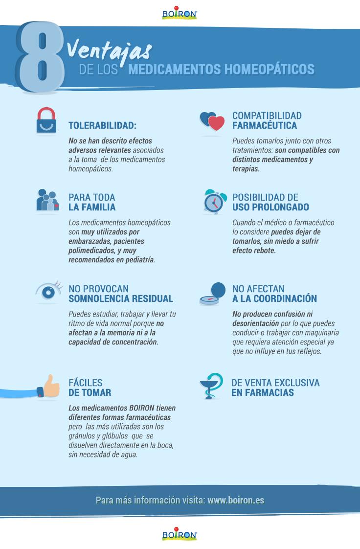 8 ventajas de los medicamentos homeopáticos