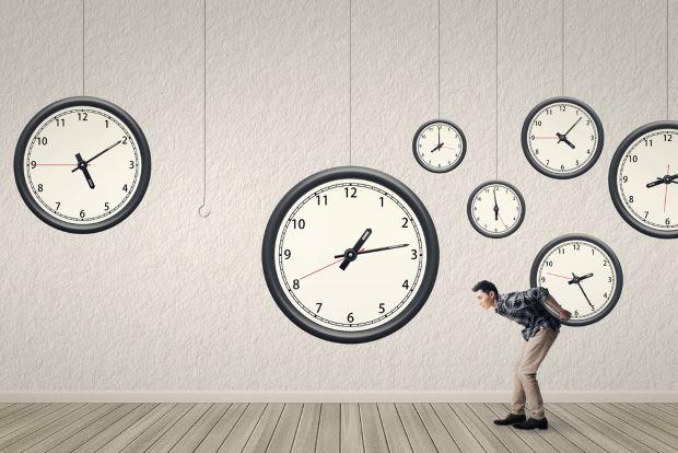 gestionar mejor el tiempo con la regla de los 3 ochos