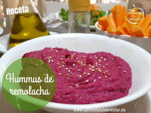 Hummus de remolacha receta