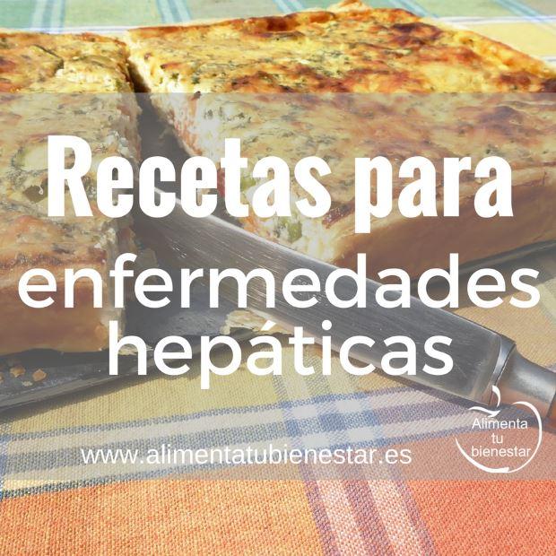 Recetas para enfermedades hepáticas
