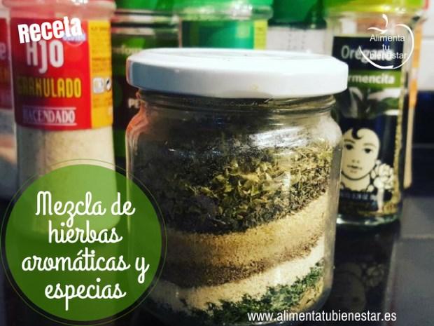 Mezcla de hierbas arom ticas y especias truco para for Cultivo de plantas aromaticas y especias