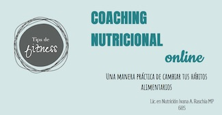 Consulta nutricional online con Ivana Raschia